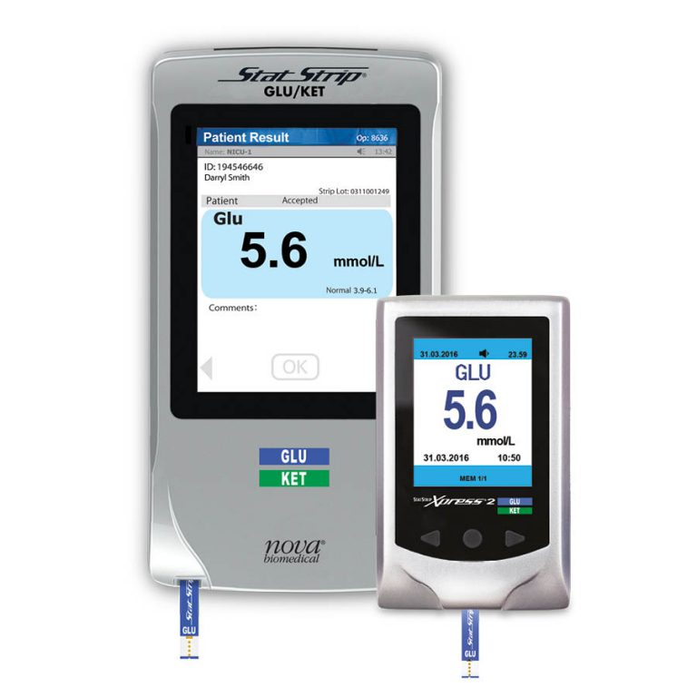 StatStrip® Glukose Connectivity & Xpress2 Teststreifen-System für den Point-of-Care.